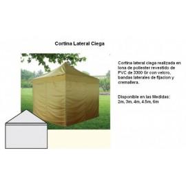 CORTINA LATERAL CIEGA PARA CARPA