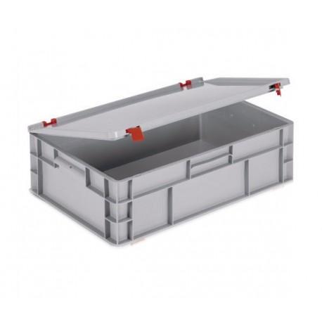 Caja plastico organizadoras mod 1 con tapa de bisagras - Caja plastico con tapa ...