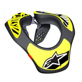COLLARIN ALPINESTAR YOUTH NECK SUPPORT AMARILLO FLUOR